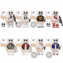 Halloweentoys Dj Marsh Toy Figures Set - Action Heroes From Battle Royal - MINI Figures Marshmel Gift For Boys And Girls