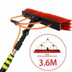 TELESCOPIC Rxqee Cleaning Rod 3.6-11M Washing Set Equipment Extension Pole Cleaning Suitable For Trucks Windows Window Glass Wal