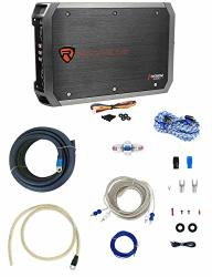 Rockville RXA-F1 1600 Watt 4 Channel Car Amplifier+memphis Audio Amp Wire Kit