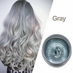 Clarelife Disposable Washable Hair Color Wax Cream Grandma Gray Hair Color Clay Colorized