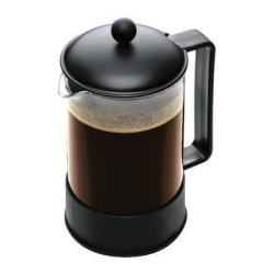 Bodum Brazil Coffee Maker French Press Coffee Maker Black 51 Ounce 12 Cup