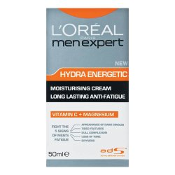Men Expert Hydra Energetic Moisturiser Anti-fatigue 50ML