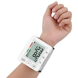Wrist Blood Pressure Monitor Fully Automatic Digital Blood Pressure Cuff Fda Approved Electric Portable Bp Monitor With Lcd Disp
