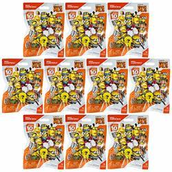 Minions Mega Construx Despicable Me 3 Figure Pack Series 10 Blind Bags X 10
