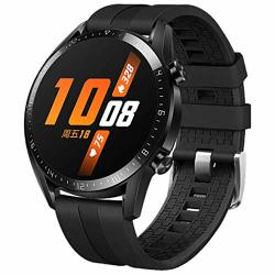 Homsta Sport Silicone Bands Compatible With Huawei GT2 Watch- Adjustable Watch Buckle Strap Wristbands Bracelets Replacement Accessory For Women Men