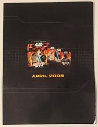 USA Star Wars 3D Miniatures Promo Flip Book Revenge Of The Sith 2005 Lot Of 14