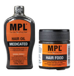 MPL Twinpack Hair Food 1 X 125g + 60g