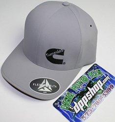 Cummins Flexfit Flex Fit Fitted Hat Dodge Diesel Black s//m