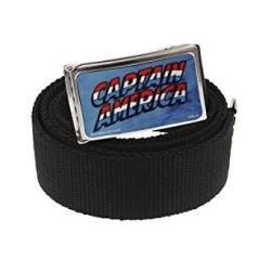 Captain America Web Belt Officially Licensed By Marvel + Comic Con Exclusive