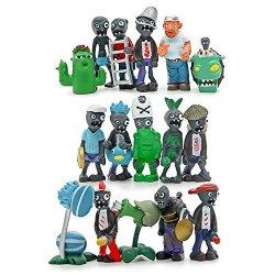 Maggift Generic Plants Vs Zombies Series Pvc Toys 16 Piece