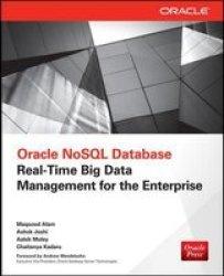 Oracle Nosql Database Paperback Ed