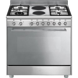 Smeg Free Standing Electric Gas Cooker SSA92MAX9