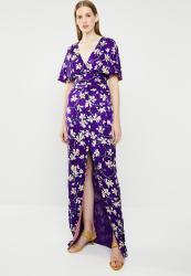 profesional estilo popular diseño de calidad Mango Floral Kimono Dress - Purple   R1699.00   Dresses   PriceCheck SA