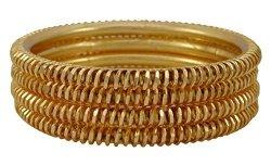 82c56039b9c77 Banithani 18K Micron Gold Plated Bangles Set Traditional Indian Fashion  Bracelets Jewelry 26   R   Fine Jewellery   PriceCheck SA