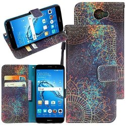 Harryshell Huawei Ascend Xt 2 Case Huawei Elate 4G LTE Case Kickstand Flip  Pu Wallet Leather Protective Case Cover With Card Slo | R505 00 | Cellphone