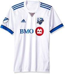 SLD Of The Adidas Group Adidas Mls Impact Montreal Men's Replica Wordmark Jersey Medium White