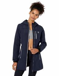 Reebok Women's Softshell Active Jacket Long Navy M