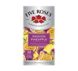 Five Roses Tea Passion Pineapple 1 X 20'S