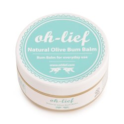 Oh-Lief Natural Olive Bum Balm 100G