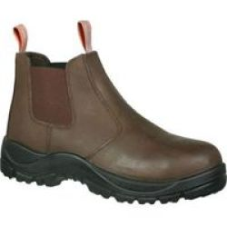 Hi-tec Size 4 Safety Boot Teleza Chelsea in Brown