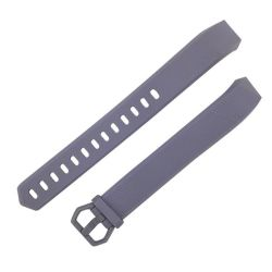 Grey Large Silicone Band For Fitbit Alta