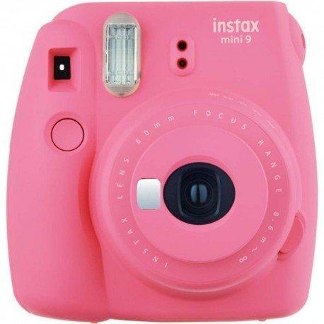 Fujifilm Instax Mini 9 Instant Print Camera in Flamingo Pink