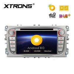 Xtrons Silver 7 Inch Android 8 0 Octa Core 4G RAM 32G Rom HD Digital  Multi-touch Screen OBD2 Dvr Car Stereo DVD Player Tire Pres | R9843 00 |