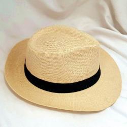 Panama Hat Holiday - Camel