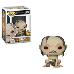 """Funko Pop Movies Lord Of The Rings Gollum 3.75"""" Chase Variant Vinyl Figure"""