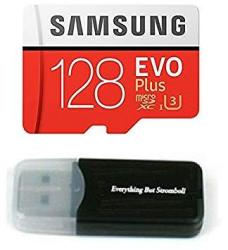 Samsung Galaxy S9 Memory Card 128GB Micro Sdxc Evo Plus Class 10 UHS-1 S9 Plus S9+ Cell Phone Smartphone With Everything But Stromboli Tm