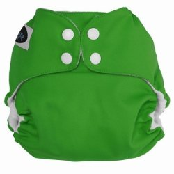 Imagine Baby Products Pocket Snap Diaper Emerald