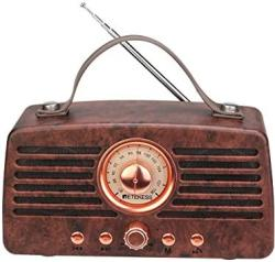 Retekess TR607 Vintage Radio Retro Bluetooth Speaker Portable Fm Stereo Radio Bluetooth 4.2 Wireless Connection Handsfree Suppor