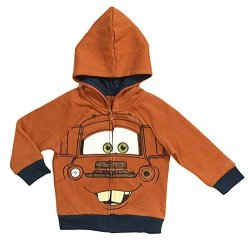 Disney Cars 3 Toddler & Little Boys Tow Mater Character Hoodie 3 3T