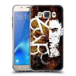 Head Case Designs Official Black Veil Brides Andy Band Art Soft Gel Case For Samsung Galaxy J7 2016
