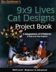 9X9 Lives Cat Designs Project Book Paperback