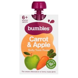 Bumbles Carrot Apple And Quinoa Puree 120G