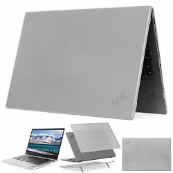 """Mcover Hard Shell Case For 14"""" Lenovo Thinkpad X1 Carbon G7 Fits 2019 7TH Generation Only Laptop Computer - X1-CARBON-G7 Clear"""