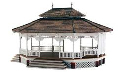 Woodland Scenics Ho Scale Built-up Building structure Grand Gazebo
