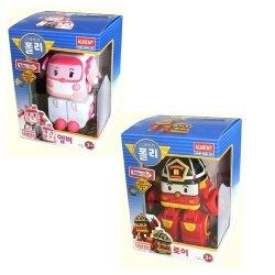 Robocar Poli Amber + Roy Transforming Robot Toy