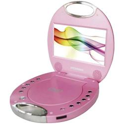 "SDVD7046-PINK 7"" Portable DVD Players With Integrated Handle Pink"