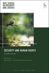 Security And Human Rights Paperback 2ND Revised Edition