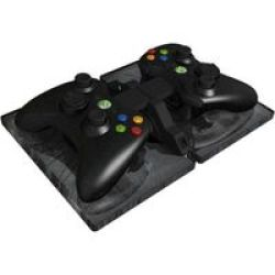 Gioteck AC-1 Duelfuel Ammoclip Usb-powered Charger For Two Controllers Xbox 360
