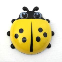 4AKID Ladybug Toothbrush Holder - Yellow