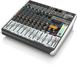 Behringer QX1222USB Xenyx Premium 16 Channel USB Mixer With Xenyx MIC Preamps And Compressors