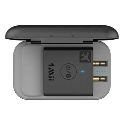 Bluetooth Airplane 5.0 Adapter For Headphones W portable Charging Case Universal Wireless Flight Audio Transmitter Supports Aptx