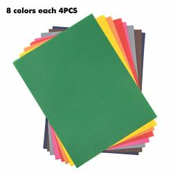 Colored Vellum Paper 8.5X11 Inches Assorted Vellum Sheets For Card Making Invitations Announcements Themed Scrapbook Pages Crafts And More 8 Assorted Colors 4 Pcs Each Color 32 Sheets