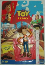 """Thinkway Toys 1995 Toy Story 4"""" Collectible Woody Figure"""