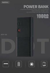 Remax Dot Series Powerbank 10000MAH Black RPP-88