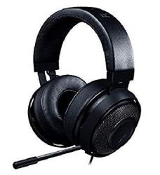 Razer Kraken Pro V2: Lightweight Aluminum Headband - Retractable MIC - In-line Remote - Gaming Headset Works With PC PS4 Xbox On