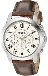 Fossil Q Grant Gen 1 Hybrid Brown Leather Smartwatch Reviews
